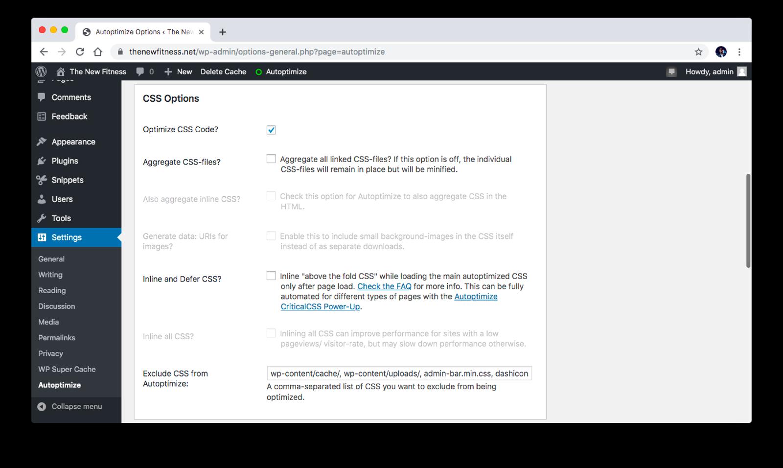 Optimize CSS code