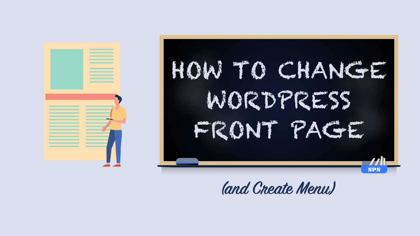 How to Change WordPress Front Page