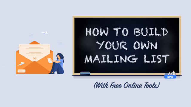 How to Build Your Own Mailing List with Free Online Tools